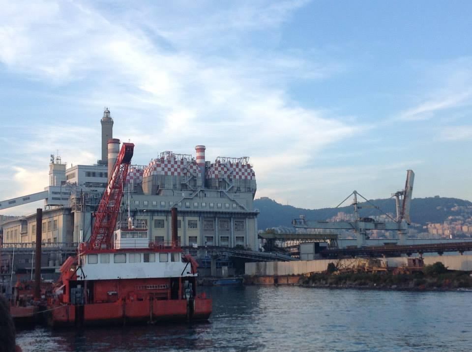 Ponte Idroscalo Genova