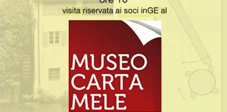 13 Dic: Museo della Carta di Mele e auguri di Natale