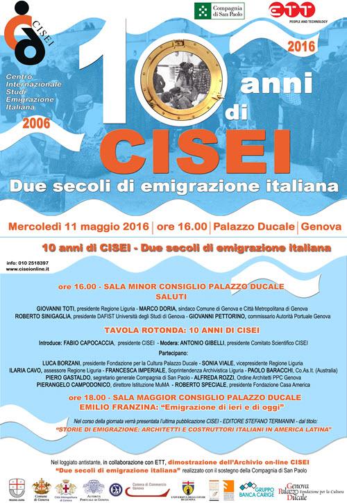 CISEI Centro Internazionale Studi Emigrazione Italiana