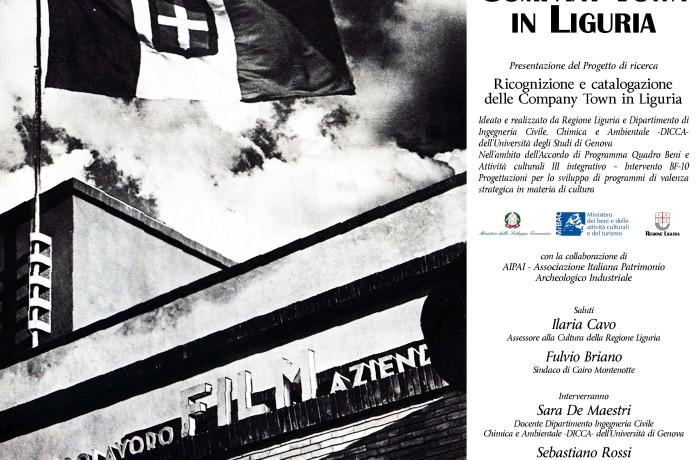Ricognizione e catalogazione delle Company Town in Liguria
