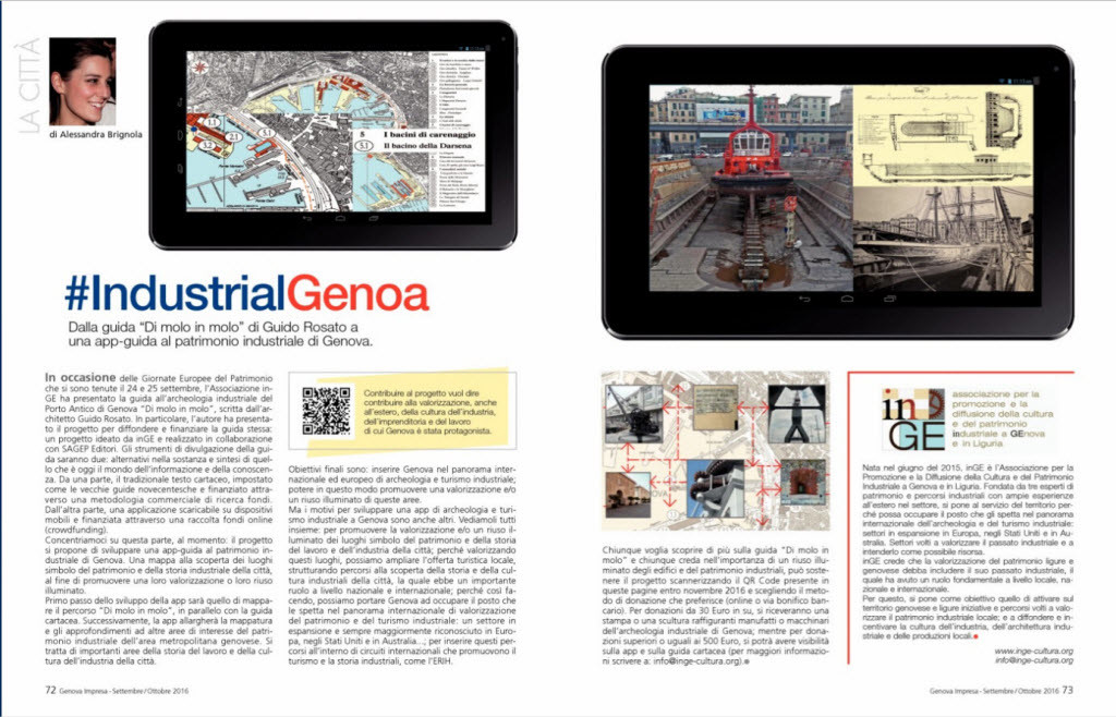 Genova Impresa inGE Industrial App