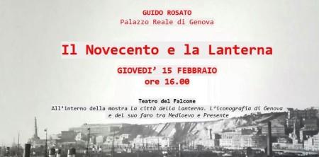 15 Febbraio – Dal Carbone all'Idroscalo: Il Novecento e la Lanterna