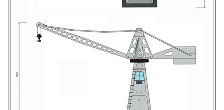 Gru elettrica da banchina Fiorentini