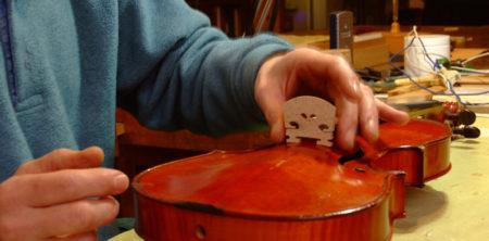 11 Gennaio: visita al laboratorio del liutaio Pio Montanari