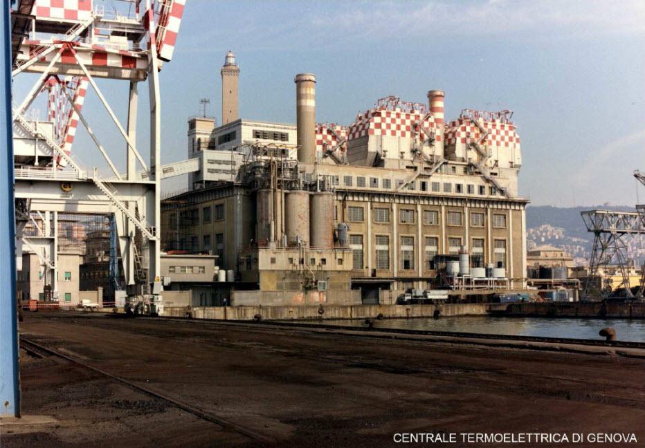 Centrale Termoelettrica del porto di Genova
