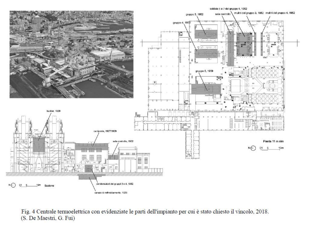 Richiesta Vincolo Centrale Termoelettrica del Porto di Genova