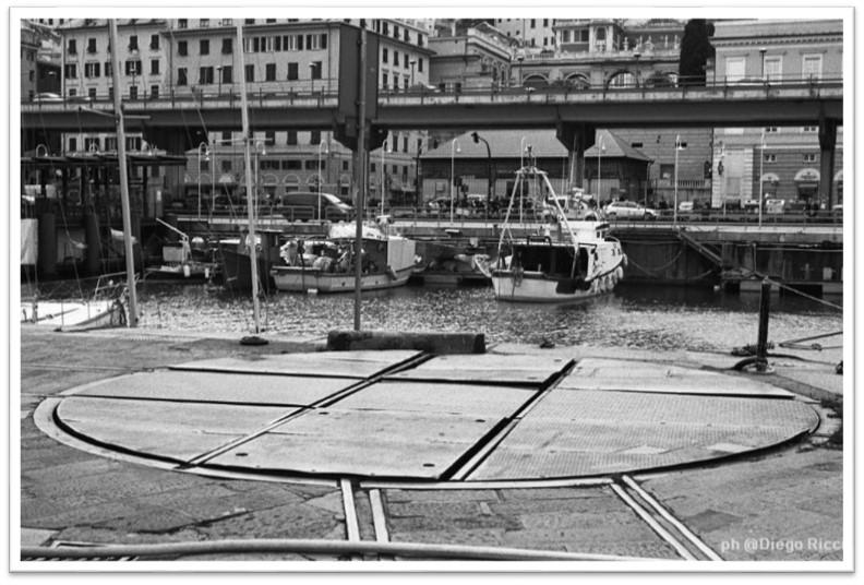 Piattaforma Girevole Porto di genova