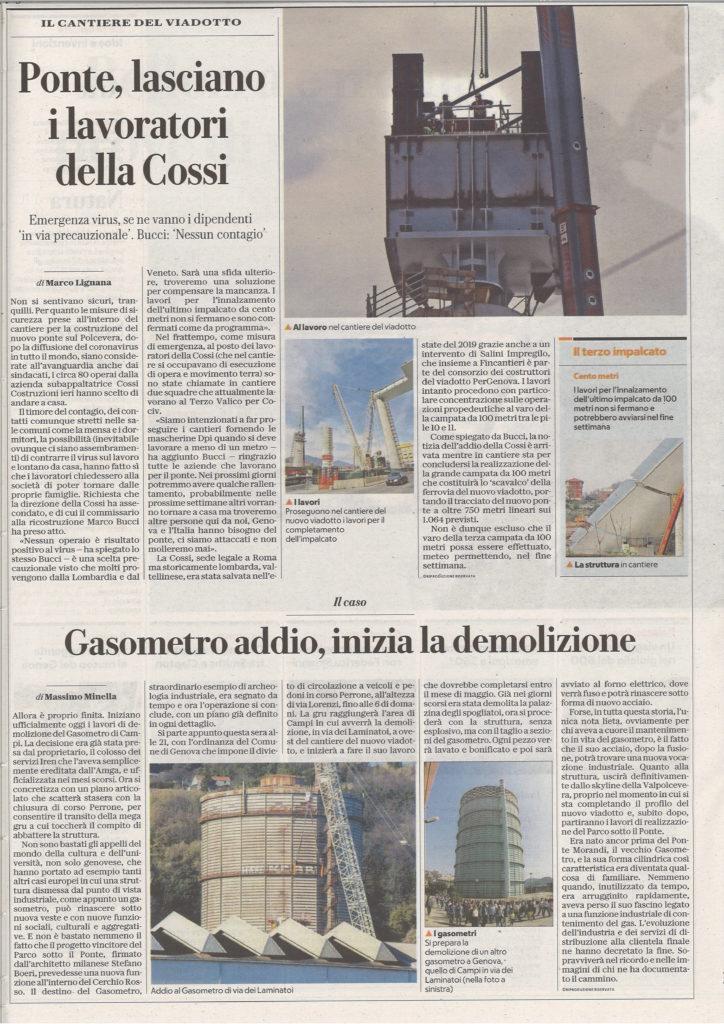 Gasometro Massimo Minella