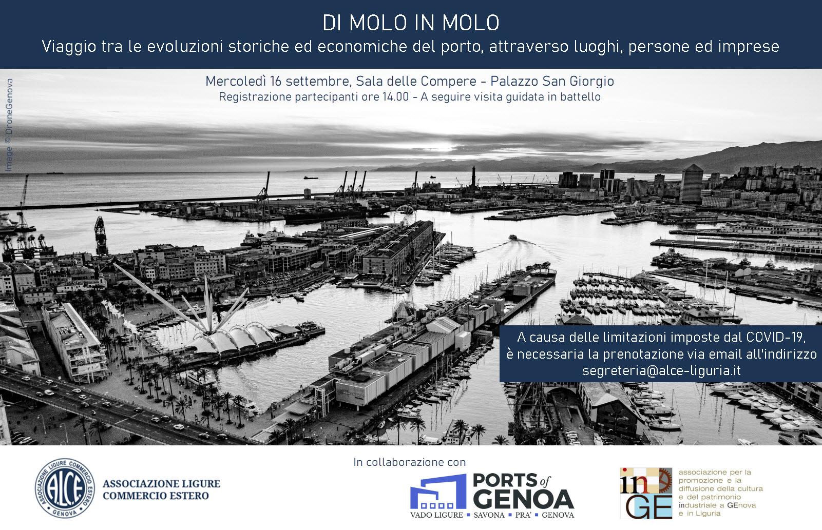 ALCE evento sul porto